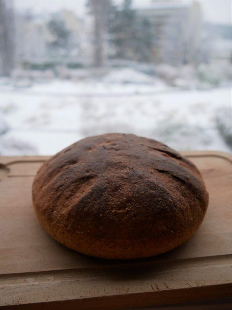 pain complet, pain à la farine complète, recette pain complet