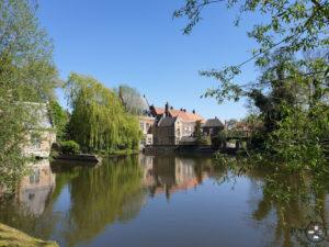 Lac d'amour Minnewater à Bruges