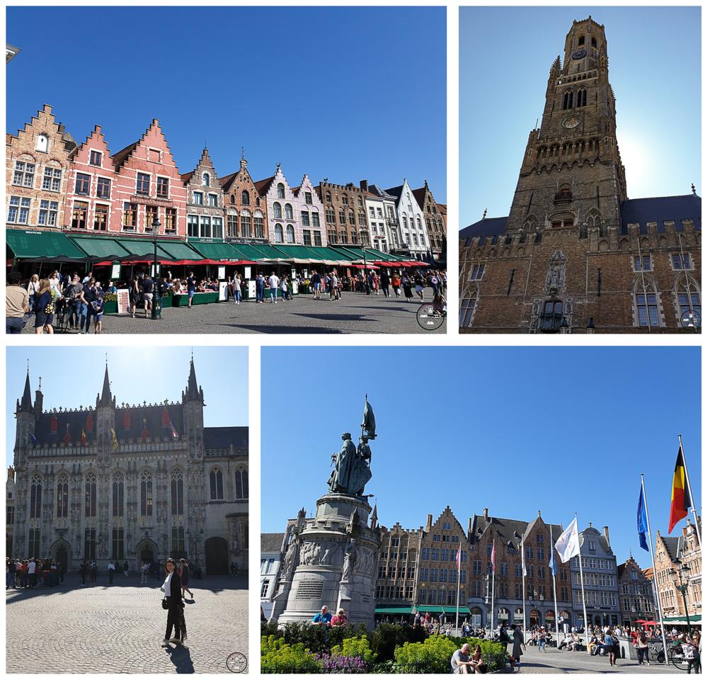 Les incontournables à voir à Bruges dont la Grand Place et le beffroi