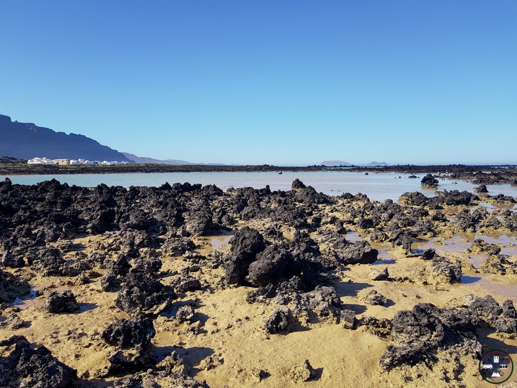 plage à Caleton Blanco à Lanzarote