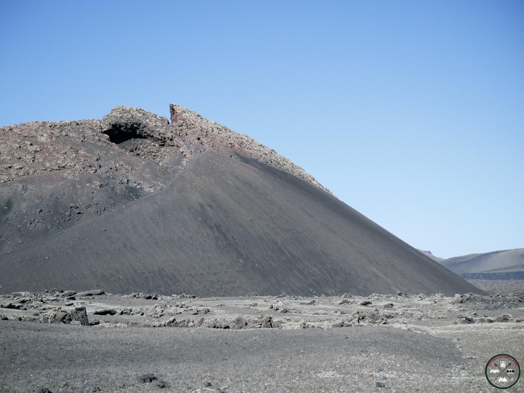 volca El Cuervo à Lanzarote aux Canaries