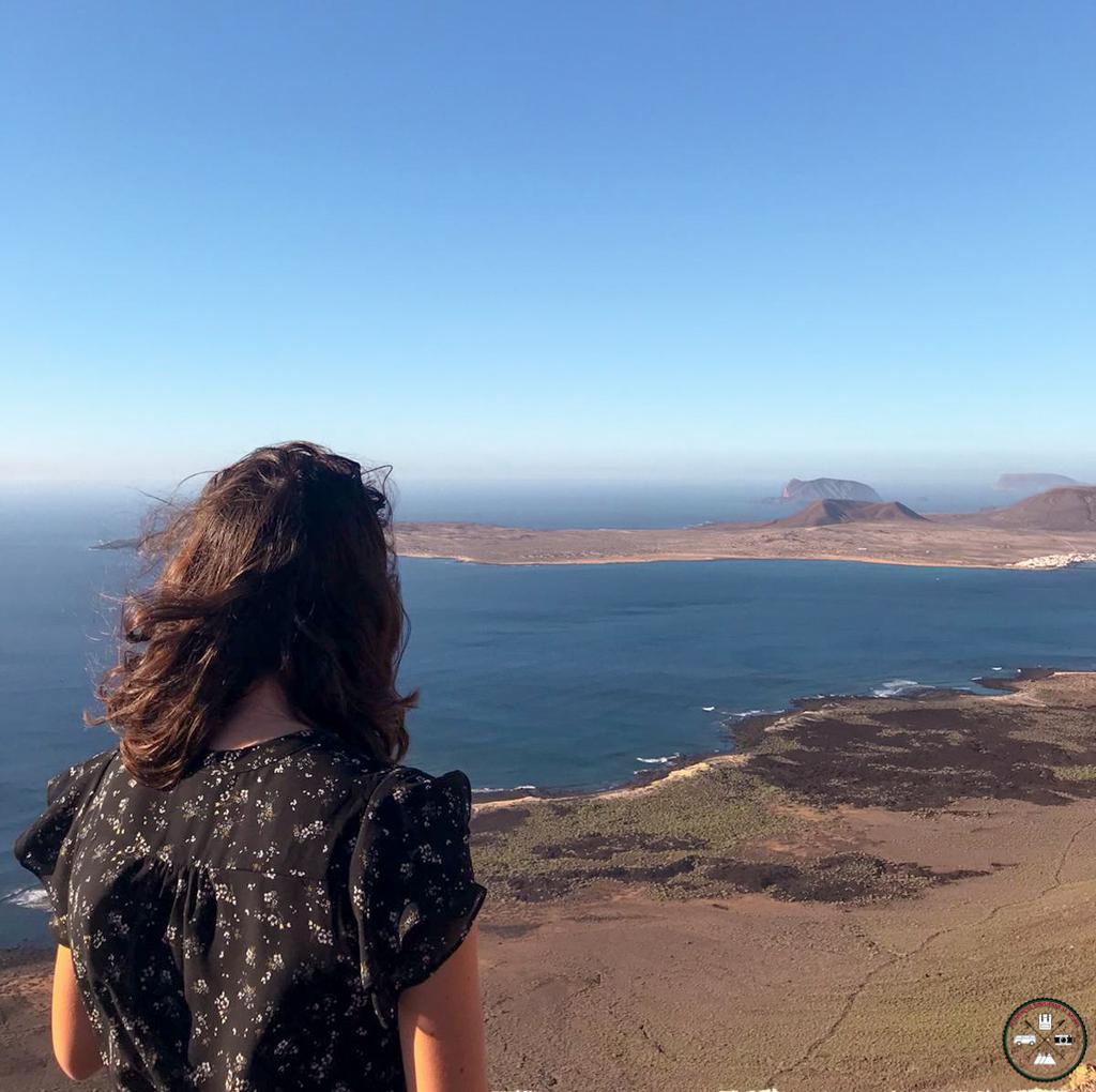 la vue depuis un mirador lors de notre séjour de 3 jours à Lanzarote