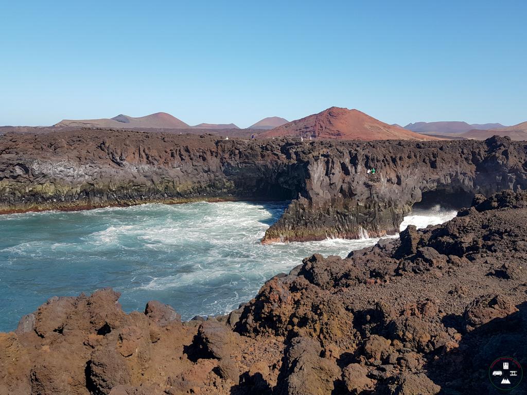 Los Hervideros à Lanzarote aux Canaries