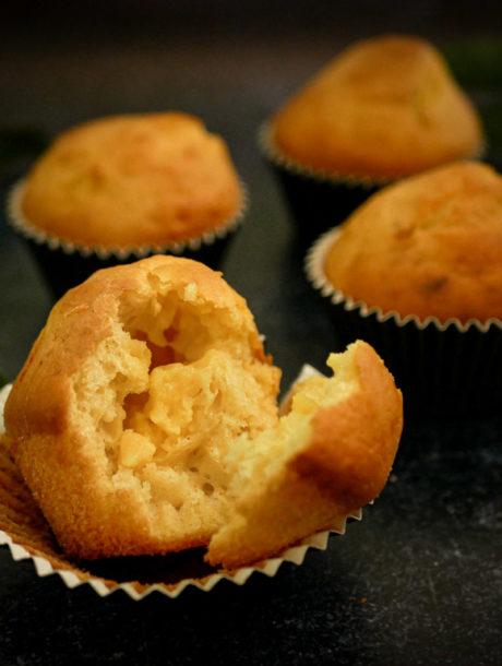 Muffins au citron sans sucre raffiné