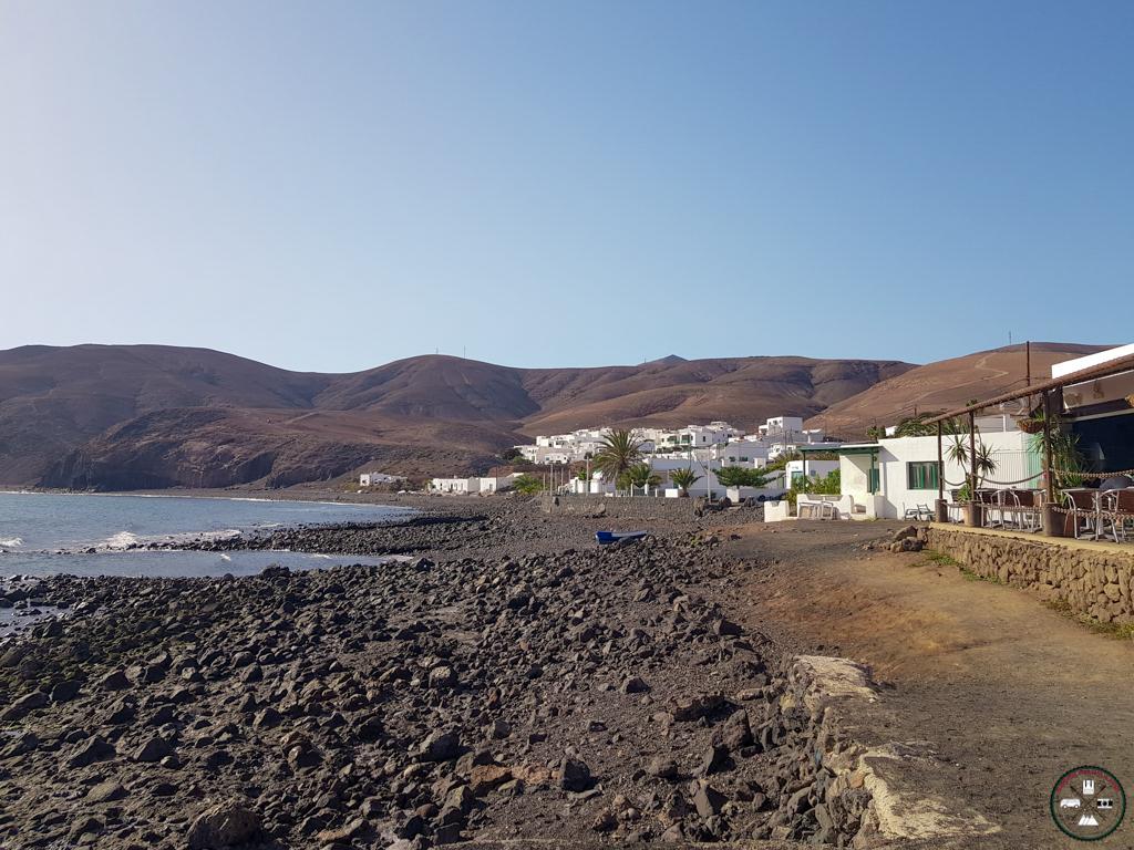 Plage à Playa Quemada à Lanzarote aux Canaries