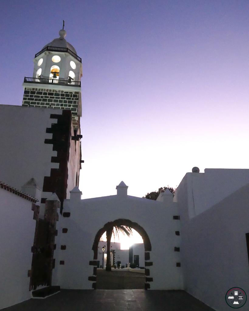 Clocher de Teguise à Lanzarote aux Canaries