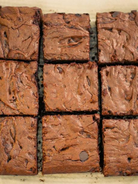 Brownie sans sucre raffiné