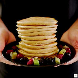 Pancakes sans lactose, recette pancake, recette pancake sans lactose
