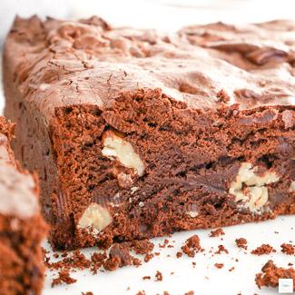 Brownie aux noix, recette brownie, recette brownie aux noix