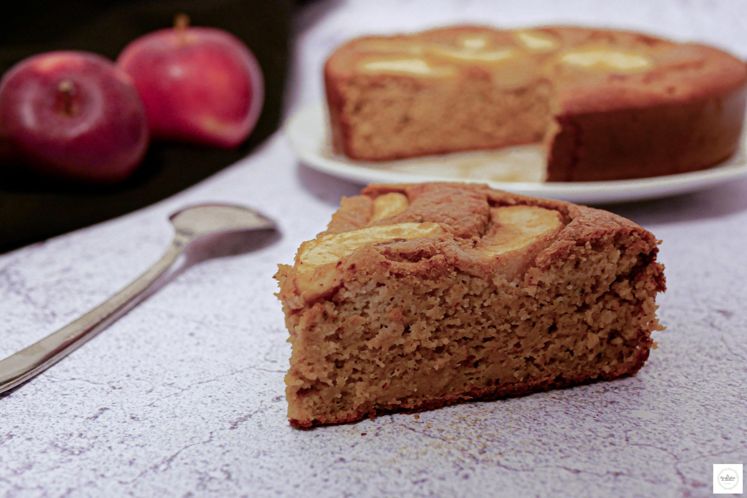 Moelleux aux pommes sans gluten