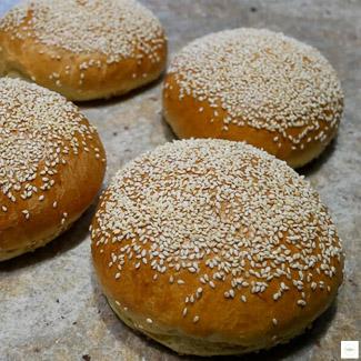 Pains burger briochés, recette burger, recette pain burger
