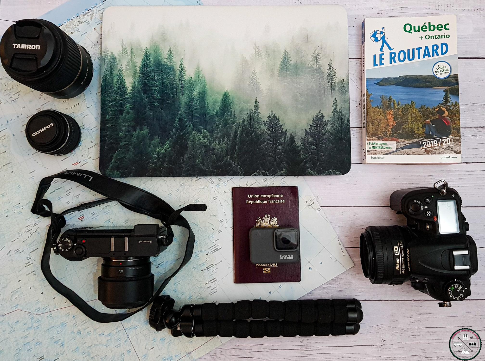 notre matériel photo et video