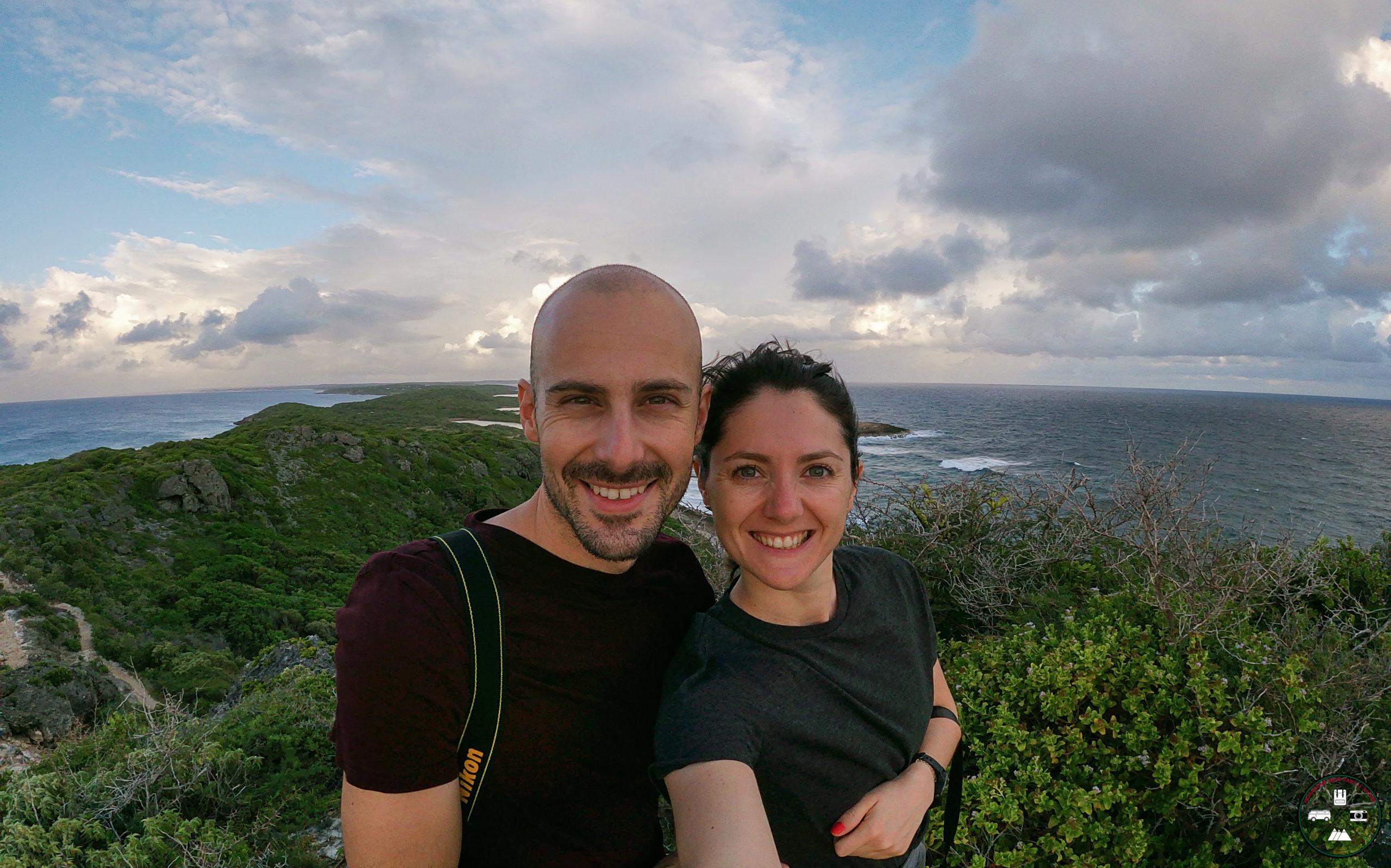 Alizée et Adrien en Guadeloupe