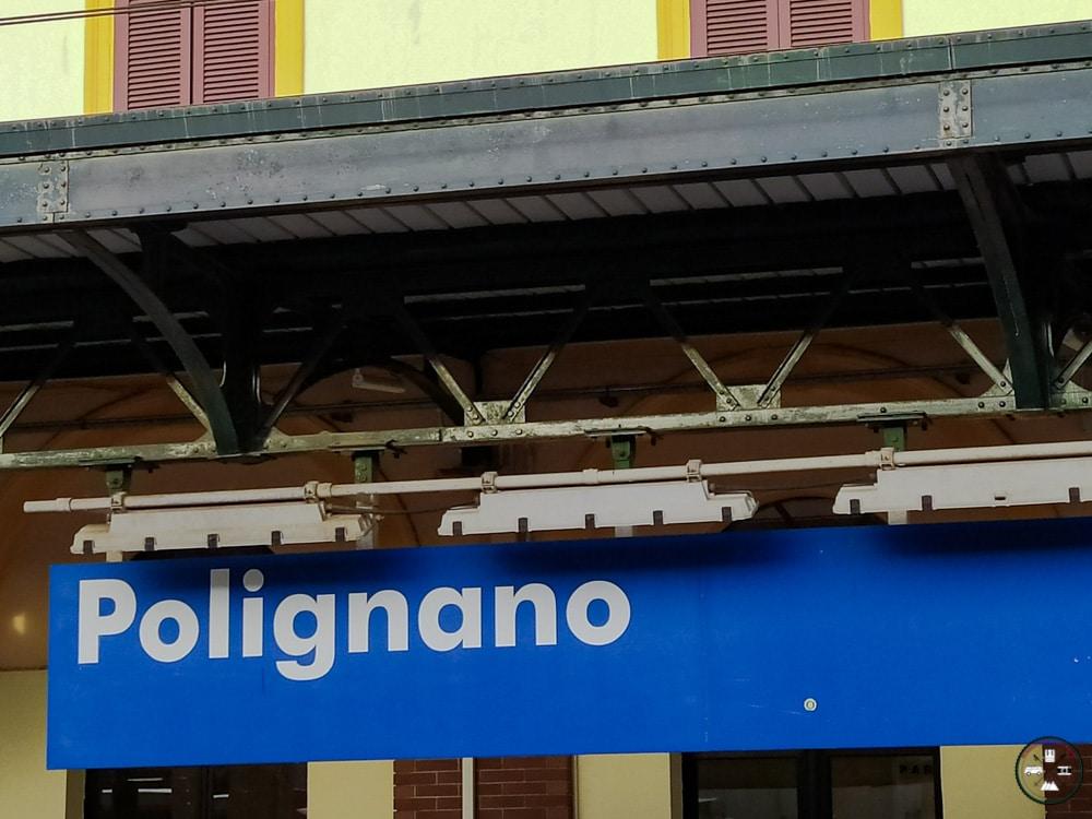 Gare ferroviaire de Polignano a Mare
