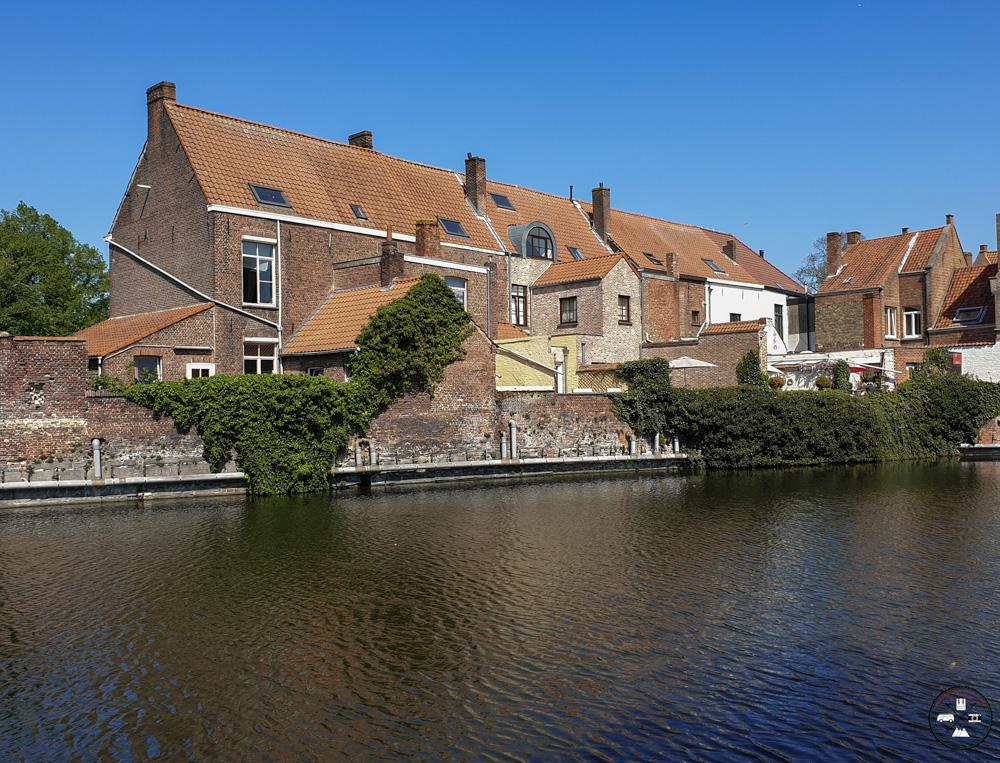 Visite du cloitre à Bruges