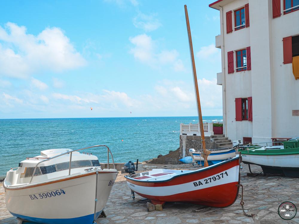 Port de peche de Guethary au Pays Basque