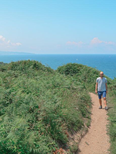 Le sentier du littoral au Pays Basque