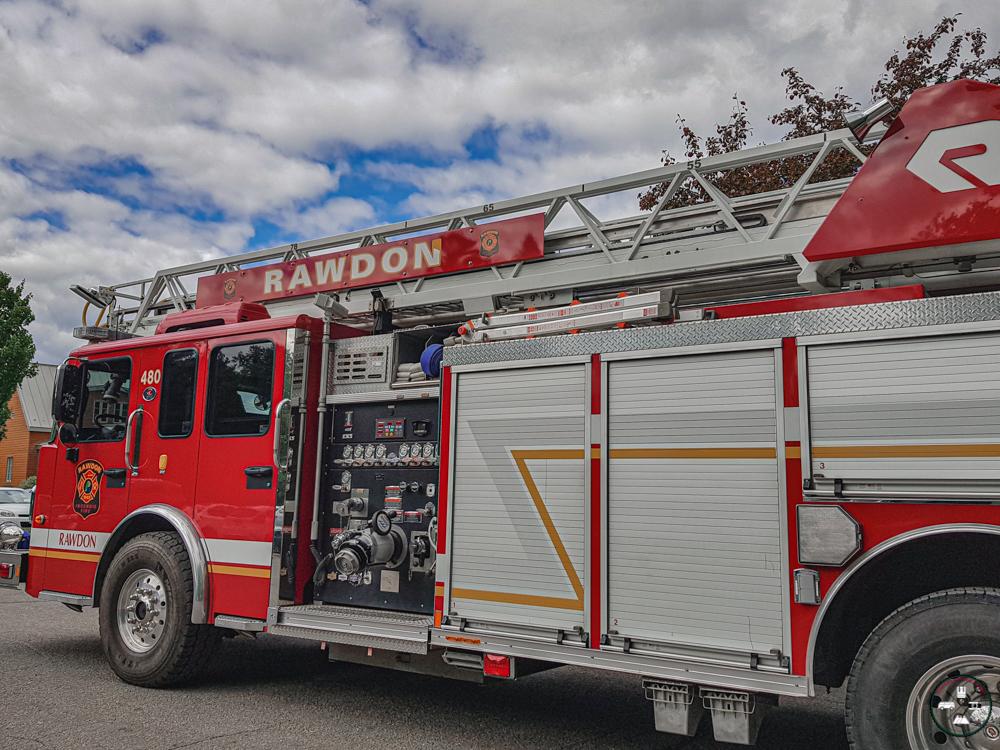Camion de pompier Rawdon