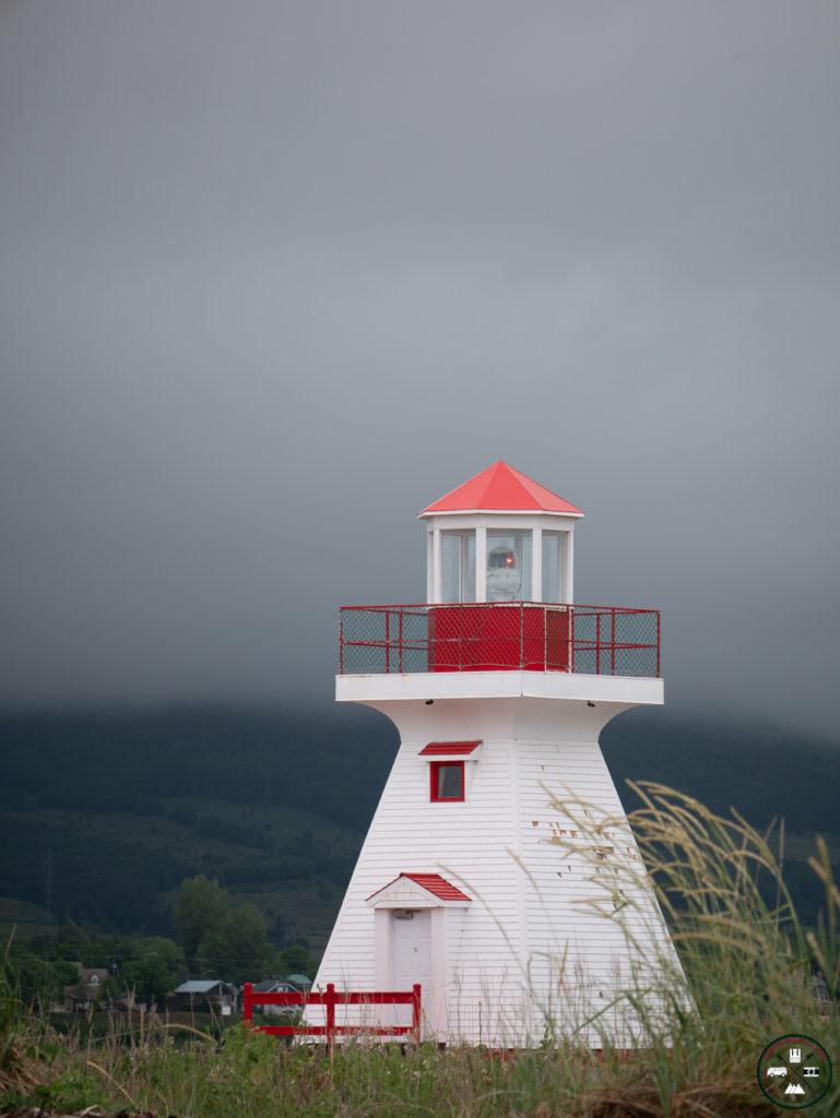 phare à carleton sur mer à la baie des chaleurs