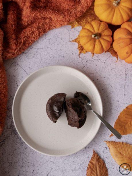 Fondant au chocolat sans sucre