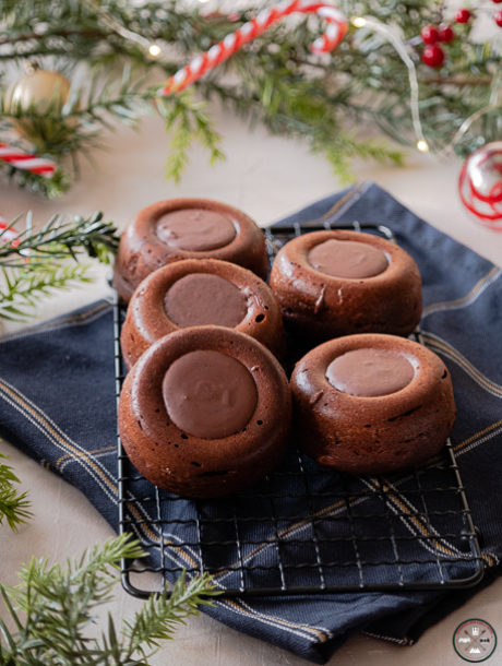 Gâteau chocolat et beurre de cacahuète