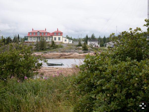 village sur la haute cote nord
