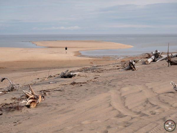 plage à portneuf sur mer sur la cote nord