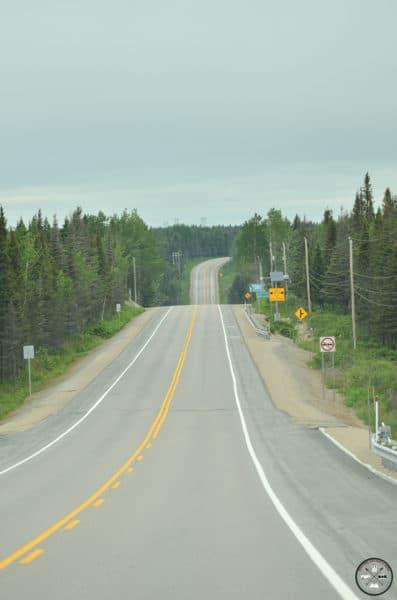 route 138 sur la côte nord