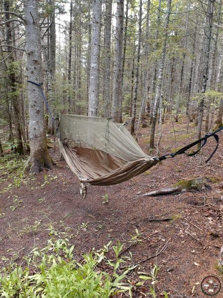 hamac avec moustiquaire pour camping