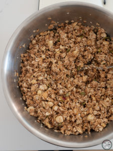 préparation granola