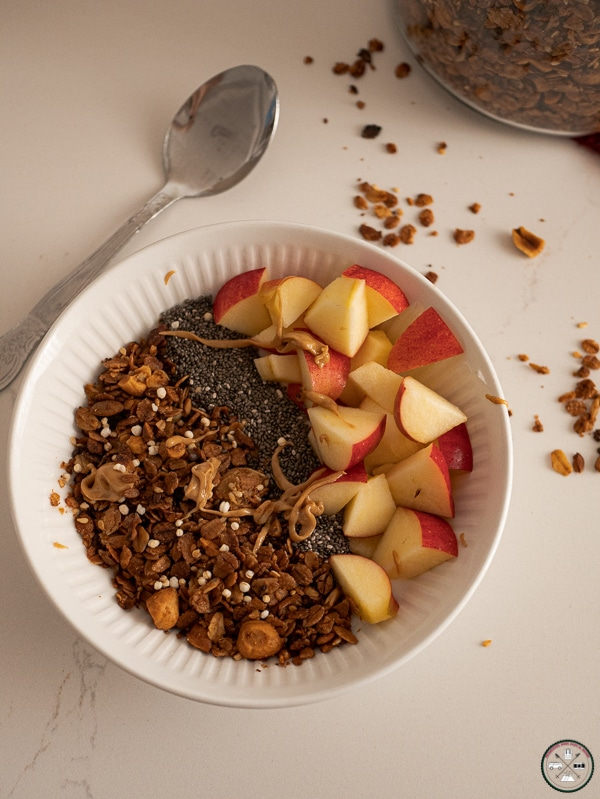 petit dejeuner granola