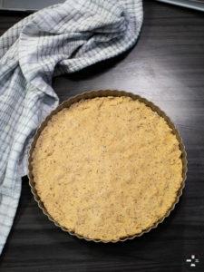 fond de tarte, sablé breton