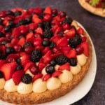 dessert aux fruits rouges, tarte aux fruits rouges
