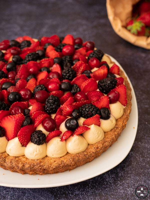 You are currently viewing Tarte aux fruits rouges