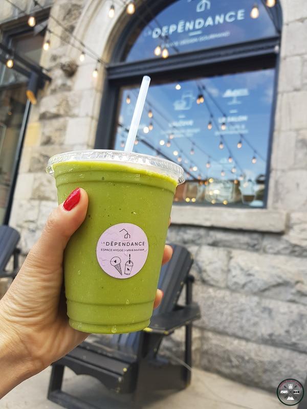 smoothie à la dépendance Montréal