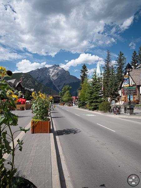 centre ville de Banff