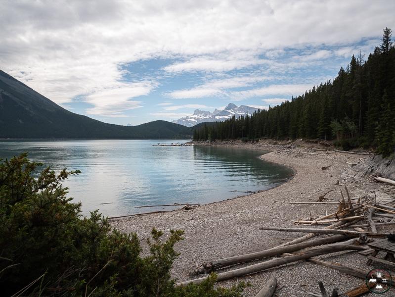 lac Minnewanka à Banff